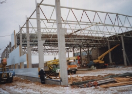 AS ELVEX tootmishoone juurdeehitused, Kirde 1, Elvas 2000.a.